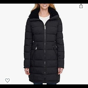 NWT Andrew Marc Ladies' Long Stretch Parka, size S